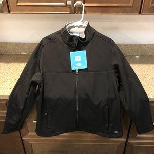 womens softshell jacket with micro fleece lining